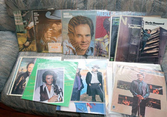 Merle Haggard LP Vinyl Collection
