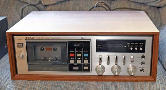 TEAC A-510  Mk II Stereo Cassette Deck