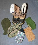 Caribou Cold Weather Boots, Gloves, Hats