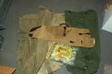 3 Duffle Bags, Netting & Shotgun Bag