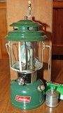 Coleman Model 220J Gas Lantern w/ Box