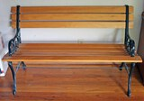 Bench with Iron Frame