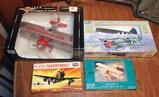 DieCast & Model Planes: Stearman Bi-Plane, P47D, Neuport 17