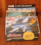 P-47 Models & Wooden Plane Kit