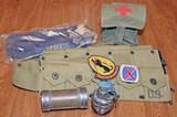 U.S. Military Items: Insignias, Airforce Cap, Practice Grenade & More