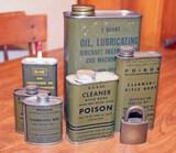 U.S. Military Cleaning Fluids & Lubricants, Lock