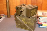 Assorted Ammo Tins