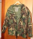U.S. Military Camo Jacket, Sz. Medium - Regular