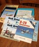 Military Aviation Books: P47, B-29 & More