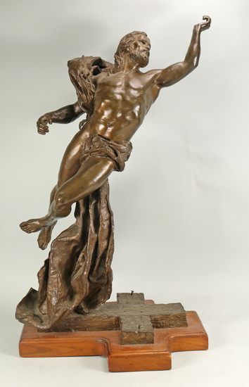 """Robert Summers """"The Ascension"""" Bronze Sculpture # 5/ 100 Signed"""