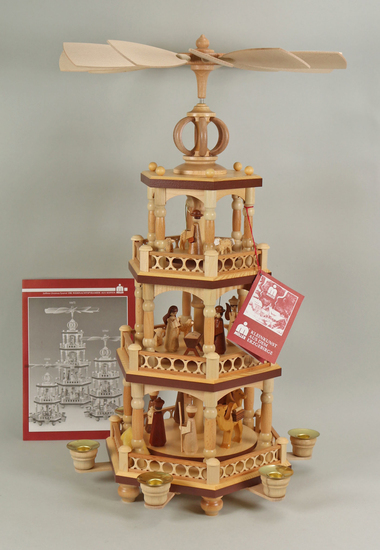 Muller  3 Tier Christmas Candle Pyramid