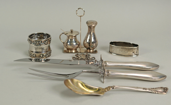 Vintage Sterling Silver Service - Table Items, 168 Grams