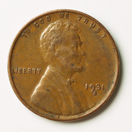 1931-S Lincoln Wheat Penny, Key Date