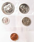 1954 US Mint Set; missing little box