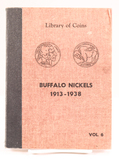 Book of Buffalo/Indian Head Nickels, Incomplete, 1913-1938