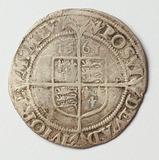 1561  Great Britain Silver Shilling, Queen Elizabeth I Coin