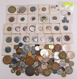 Bag of Foreign Coins & Tokens