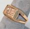 10k Gold Ring w/ Small Diamond, Sz. 6.5, 5.7 Grams