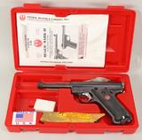 Ruger 50th Anniversary Mark II .22 Pistol