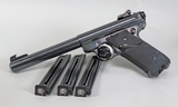 Ruger Mark II Target .22 LR w/ Extra Clips