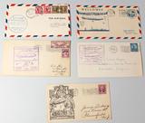 U.S.S. Akron Airship Stamped Envelopes