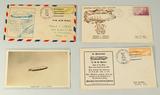 U.S.S. Macon Airship Stamped Envelopes & Original Photo