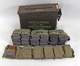Cal .30 Cartridges, Ball M2 in Bandoleers, 192 Rds.