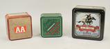 Collectible Tins of 12 Ga. Shotshells: Winchester, Remington, AA