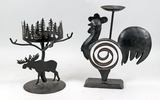 Décor Candle Holders - Metal