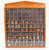 Thimble Collection in Shadow Box