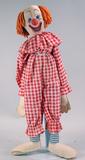 Vintage Bozo Clown Doll, Ca. Ca. 1950