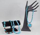 Southwest Style Turquoise Necklaces, Pendant