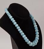 Polished Stone Beaded Necklace