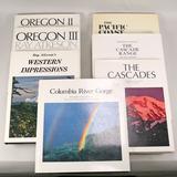 6 Hardback Books on The Pacific Northwest/1 Western Impressions