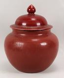 Chinese Ox-Blood Jar