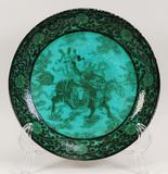 Chinese Famille Verte Plate, Kangxi Mark