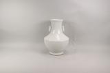 Chinese White Glaze Vase, Qianlong Mark