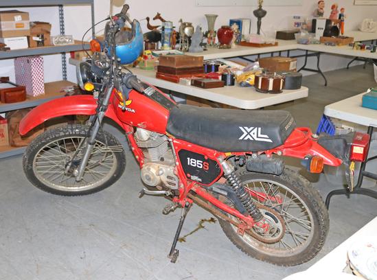 1982  185S Honda Motorcycle