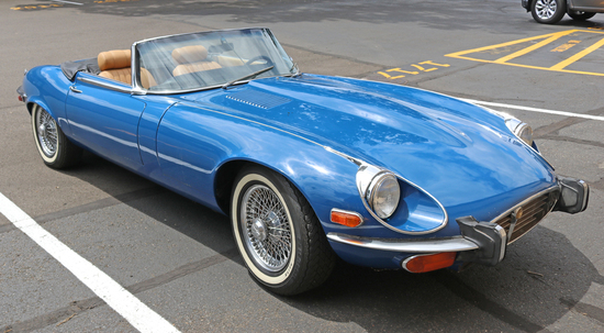 1973 Jaguar XKE V-12 4-Speed Roadster w/ Hard Top