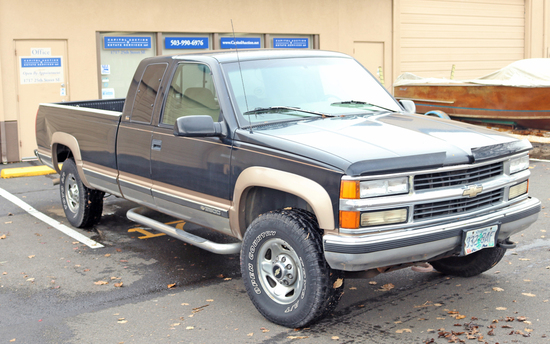 1996 Chevy 2500 4x4 Pickup