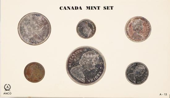 1965 Canada Mint Set