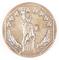 1 Troy oz. .999 Fine Silver, Statue of Liberty Design, Siltex Inc.