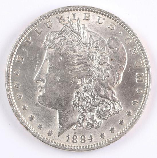1884-P Morgan Silver Dollar