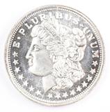1 Troy oz. .999 Fine Silver, Morgan Dollar Design