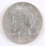 1926-D Peace Silver Dollar (faded D)
