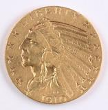 1910-S $5 Gold Indian Head Half Eagle