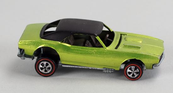 "Hot Wheels ""Redline"" Custom Camaro, Ca. 1967"