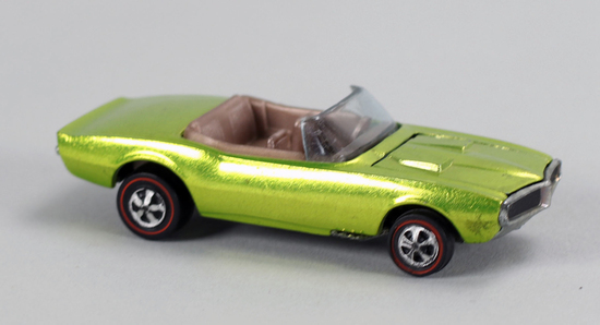 "Hot Wheels ""Redline"" Custom Firebird, Ca. 1968"