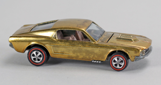 "Hot Wheels ""Redline"" Mustang, Ca. 1968"
