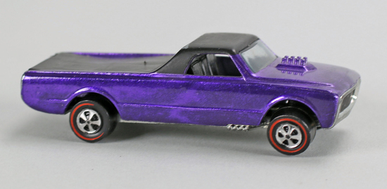 "Hot Wheels ""Redline"" Custom Fleetside, Ca. 1968"
